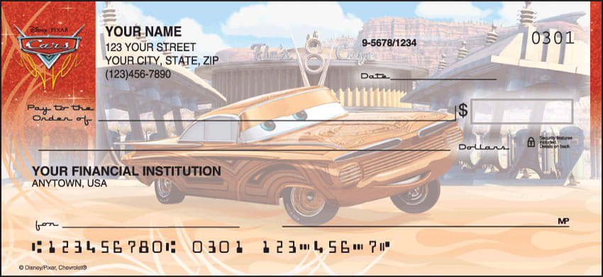 disney/pixar cars checks - click to preview