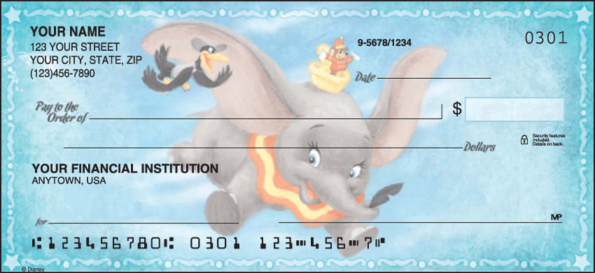 Disney Classics Checks - click to view larger image