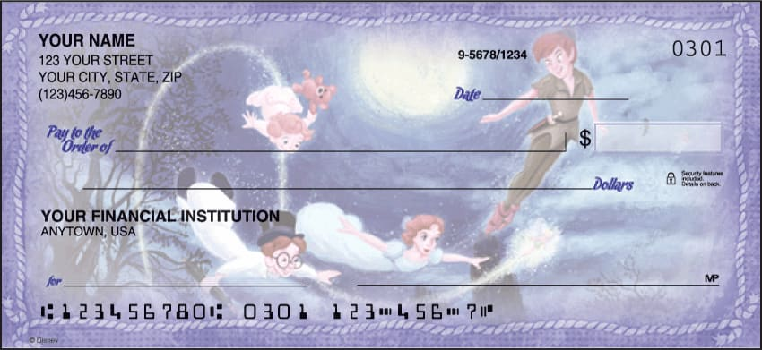 Enlarged view of disney classics checks