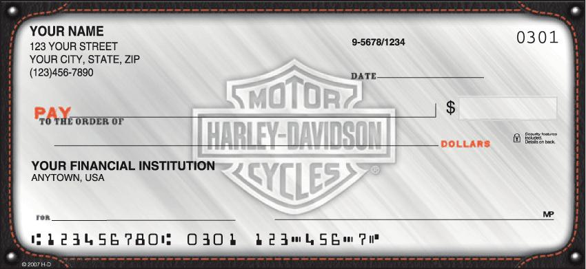 harley-davidson checks - click to preview