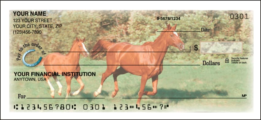 horse play side tear checks - click to preview