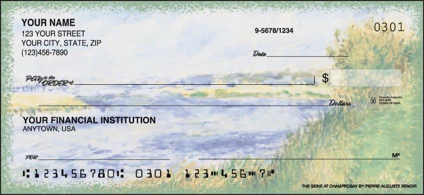 impressionists checks - click to preview