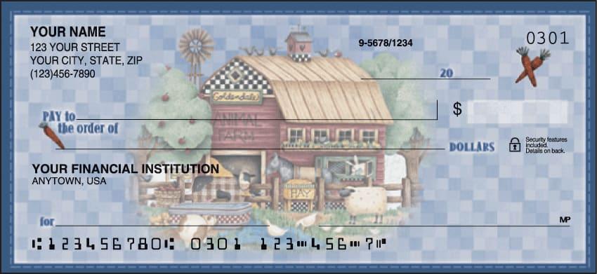 debbie mumm life on the farm checks - click to preview
