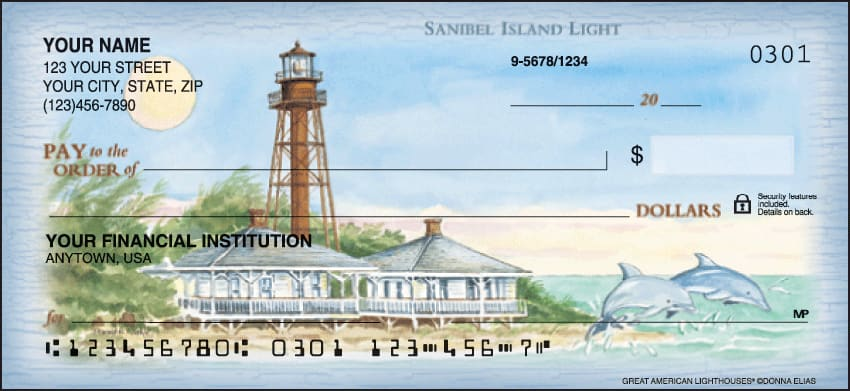 Lighthouses Checks - click to preview