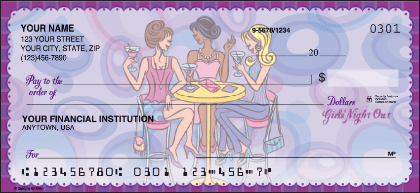 pampered girls checks - click to preview