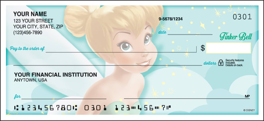 Tinker Bell Side Tear Checks - click to view larger image