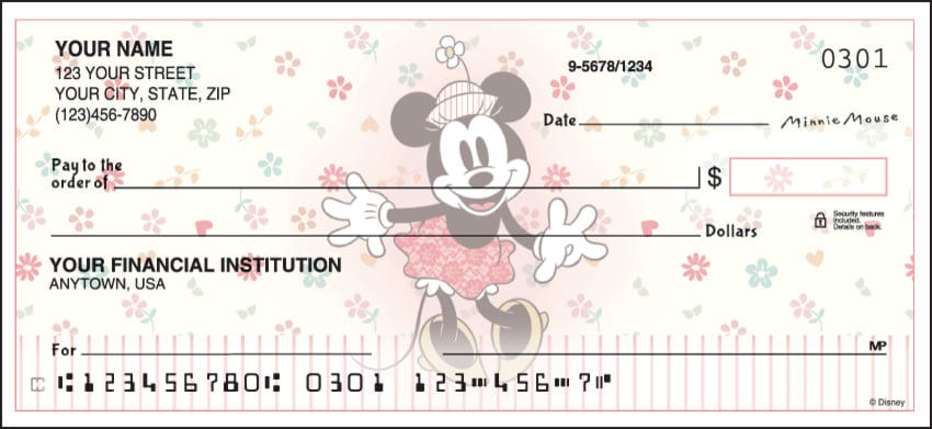 Minnie Mouse Checks - click to view larger image