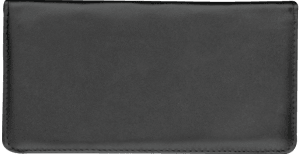 Black Checkbook Cover – click to view product detail page