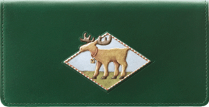Enlarged view of Cabin Fever Checkbook Cover