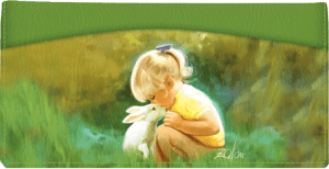 Donald Zoland Childhood Friends Checkbook Cover – click to view product detail page