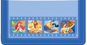 Enlarged view of Disney Classics 2 Checkbook Cover