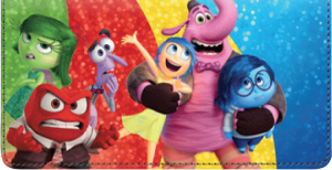 Enlarged view of Disney/Pixar Inside Out Checkbook Cover