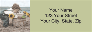Enlarged view of Forever Young Address Labels