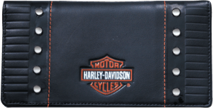 Enlarged view of Harley-Davidson Checkbook Cover