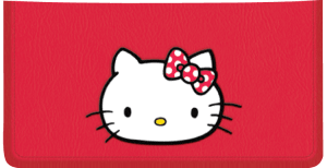 Enlarged view of Hello Kitty Checkbook Cover