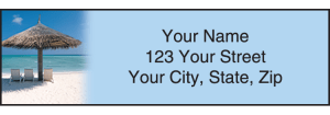 Island Escapes Address Labels – click to view product detail page