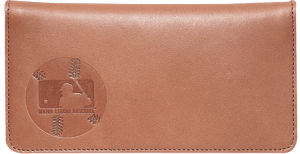 Enlarged view of Major League Baseball Checkbook Cover