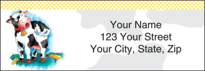 Enlarged view of Moo Money Address Labels