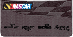 Enlarged view of NASCAR Collections Checkbook Cover