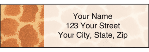 Animal Print Address Labels – click to view product detail page