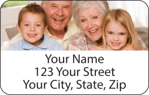 Enlarged view of Photo Address Labels