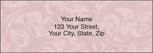 Enlarged view of renaissance address labels