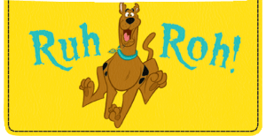 Enlarged view of Scooby-Doo Checkbook Cover