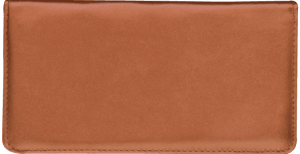 Enlarged view of Tan Checkbook Cover