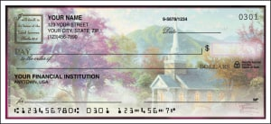 Thomas Kinkade Churches Side Tear Checks – click to view product detail page