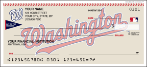Enlarged view of mlb - washington nationals checks