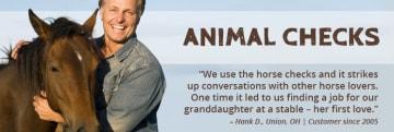 Animal Personal Checks