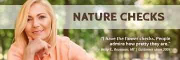 Nature Personal Checks