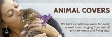Animal Checkbook Covers