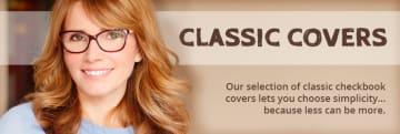 Classic Checkbook Covers