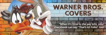 Warner Bros. Checkbook Covers