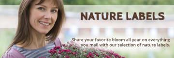 Nature Address Labels