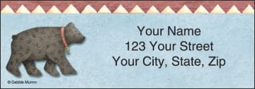 Cabin Fever Address Labels - click to view larger image