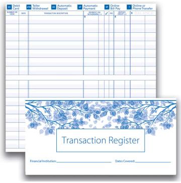 Checks Register