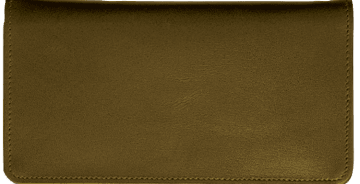 Chocolate Brown Checkbook Cover – click to view product detail page