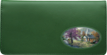 Thomas Kinkade Churches Checkbook Cover – click to view product detail page