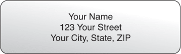 Clear Rolled Address Labels - 500 qty – click to view product detail page