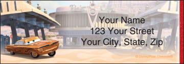 disney/pixar cars address labels - click to preview
