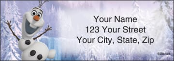 Disney's Frozen Address Labels - click to view larger image