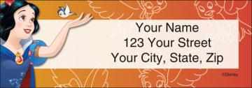 Disney Princess Address Labels - click to view larger image