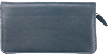 Elite Black Zippered Checkbook Cover – click to view product detail page