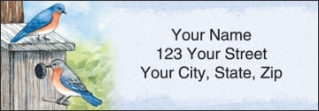Feathered Friends Address Labels - click to view larger image