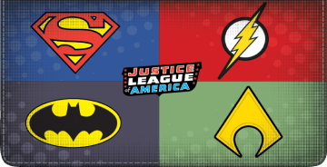 The Justice League Checkbook Cover – click to view product detail page