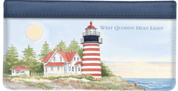 Lighthouses Checkbook Cover – click to view product detail page
