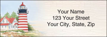 Lighthouses Address Labels – click to view product detail page