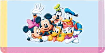 Mickey Adventure Side Tear Checkbook Cover – click to view product detail page
